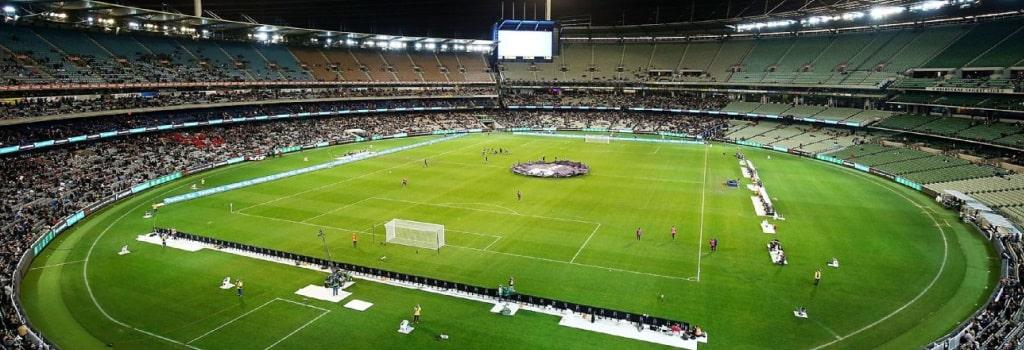 Five of Australia's Largest Football Stadiums