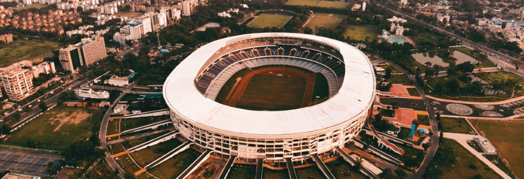EMS Stadium - Arguably the Best Football Ground in India