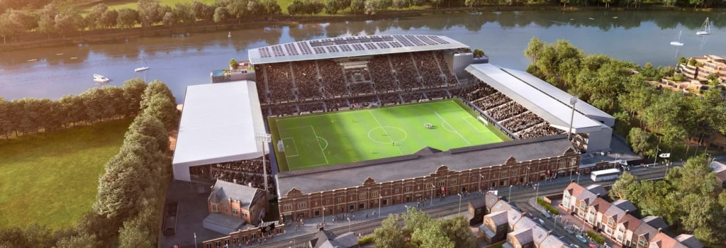 Relegation won't stop Fulham's Riverside Stand from being completed