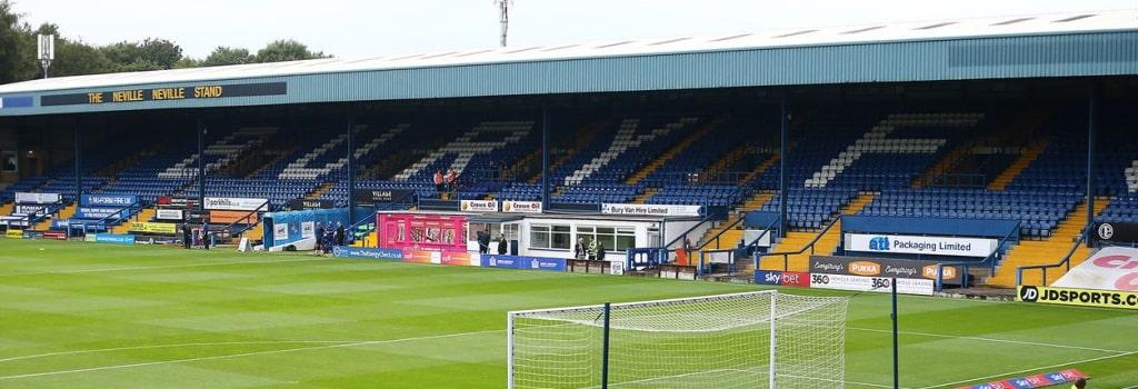 Gigg Lane - Bury's historic stadium is up for sale