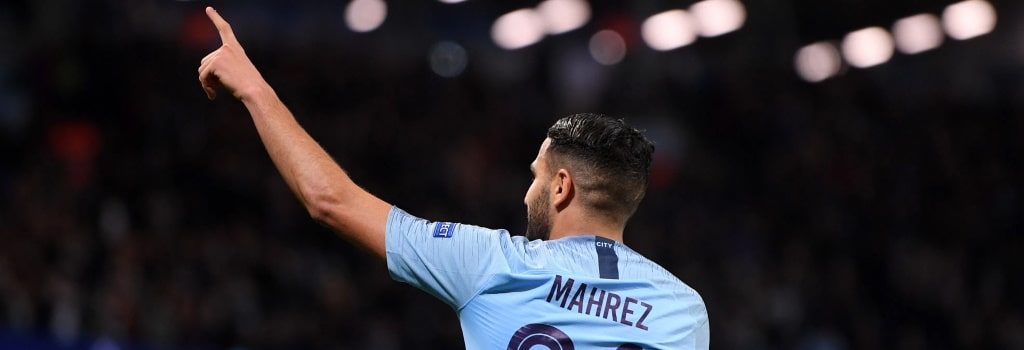 Mahrez joins elite club in the same week Ronaldo and Messi flop