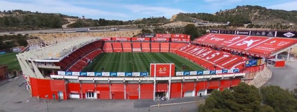 Gimnastic's Estadio de Tarragona
