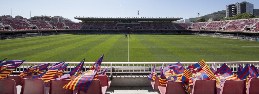 Barcelona B's Mini Estadi