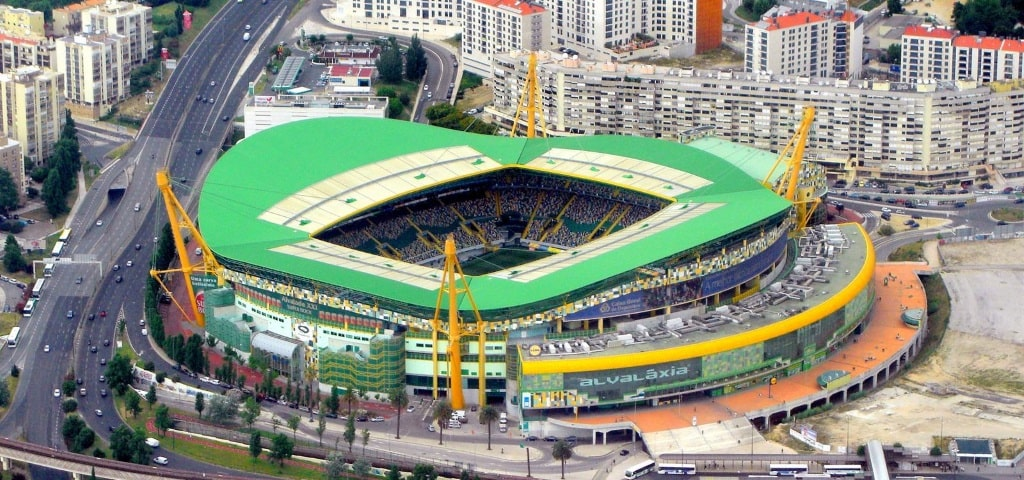Sporting Portugal's Estadio Jose Alvalade