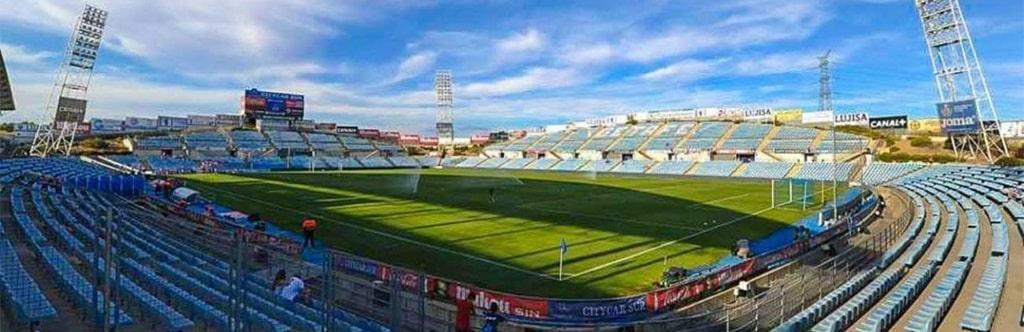Getafe's Coliseum Alfonso Perez