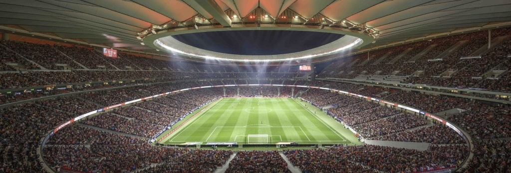 Atletico Madrid's new Estadio Wanda Metropolitano