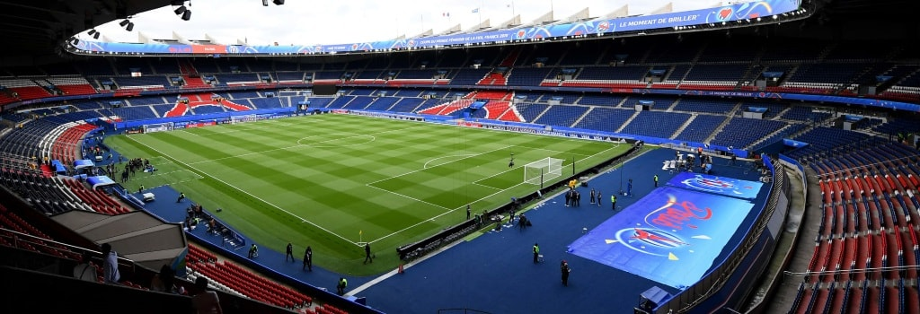 Paris St Germain's Parc des Princes