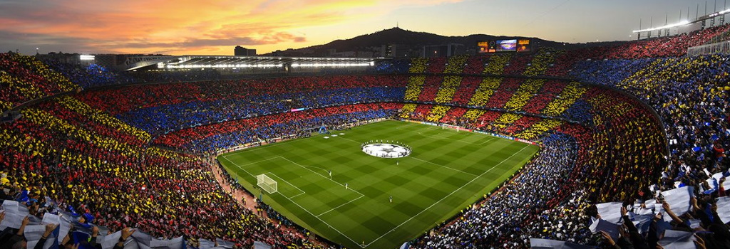The 91 Biggest Football Stadiums in Europe