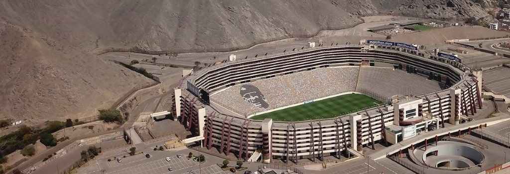 Biggest stadiums in South America