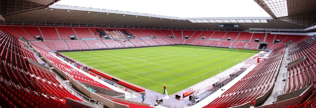 The five biggest football stadiums outside of England's top flight