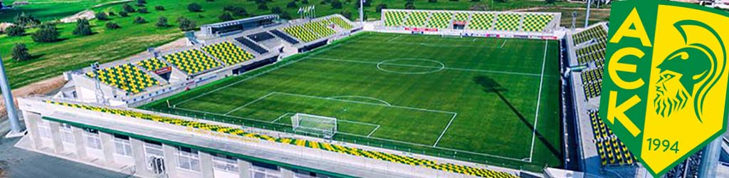 AEK Arena, home to AEK Larnaca - Football Ground Map