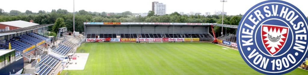 Holstein Stadion Home To Holstein Kiel Football Ground Map