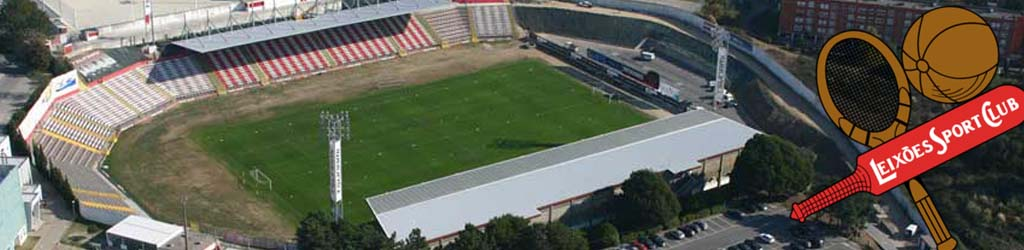 Estadio Do Mar Home To Leixoes Football Ground Map