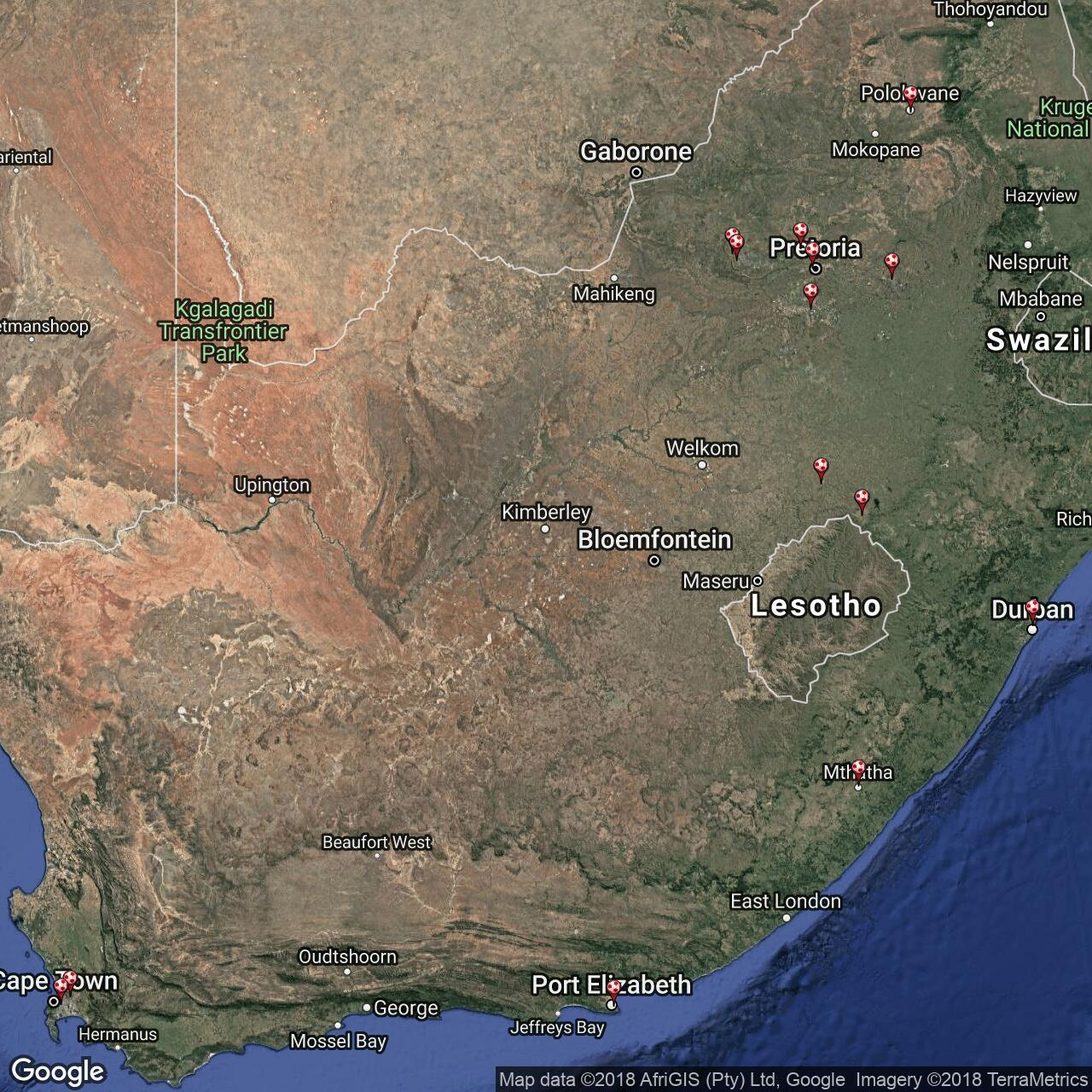 South African Teams Football Grounds In South Africa Football