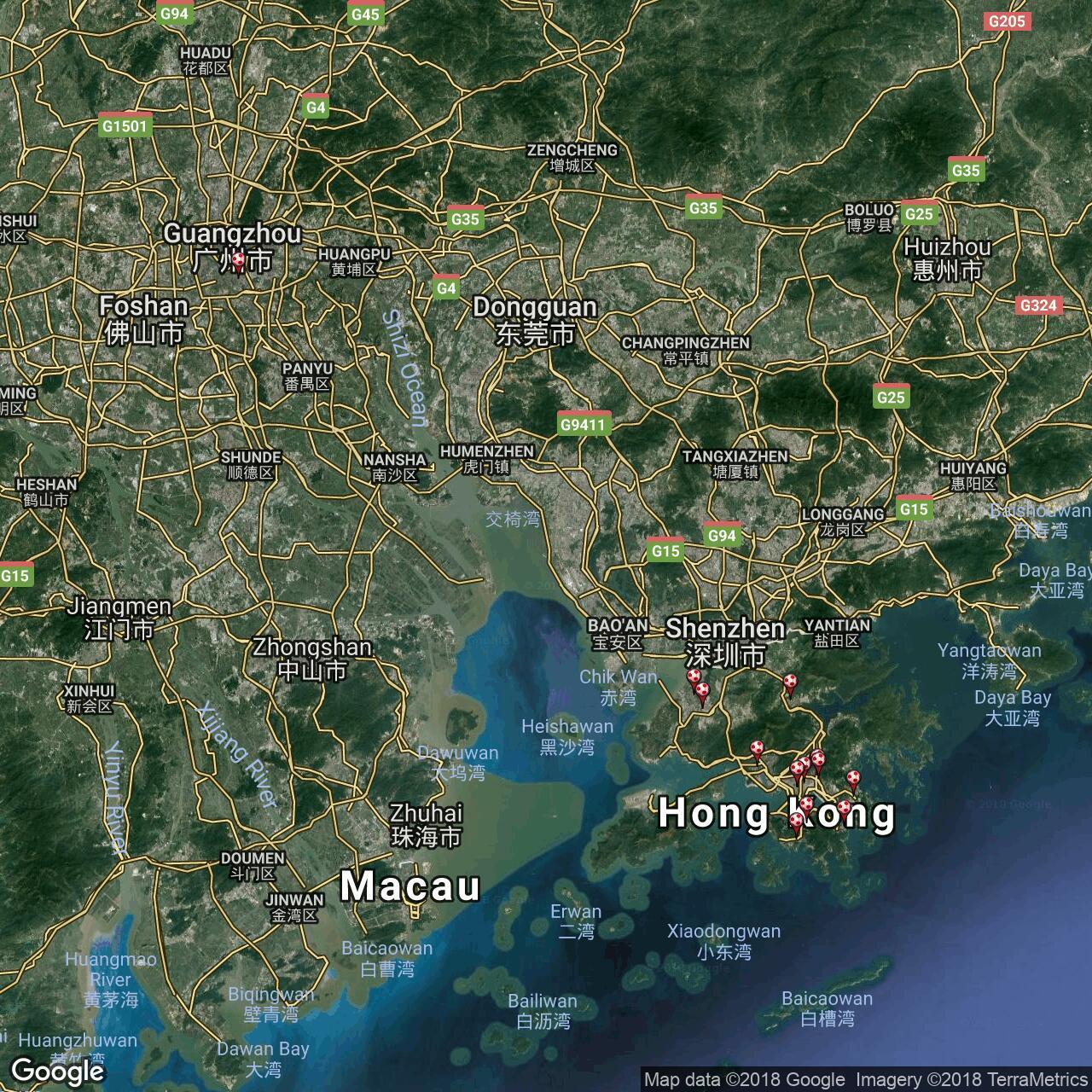 Hong Kong Premier League Football Grounds In Hong Kong Football Ground Map