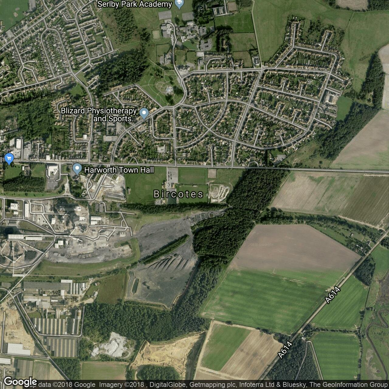 Scrooby England Map.Scrooby Road Home To Harworth Colliery Harworth Colliery Reserves