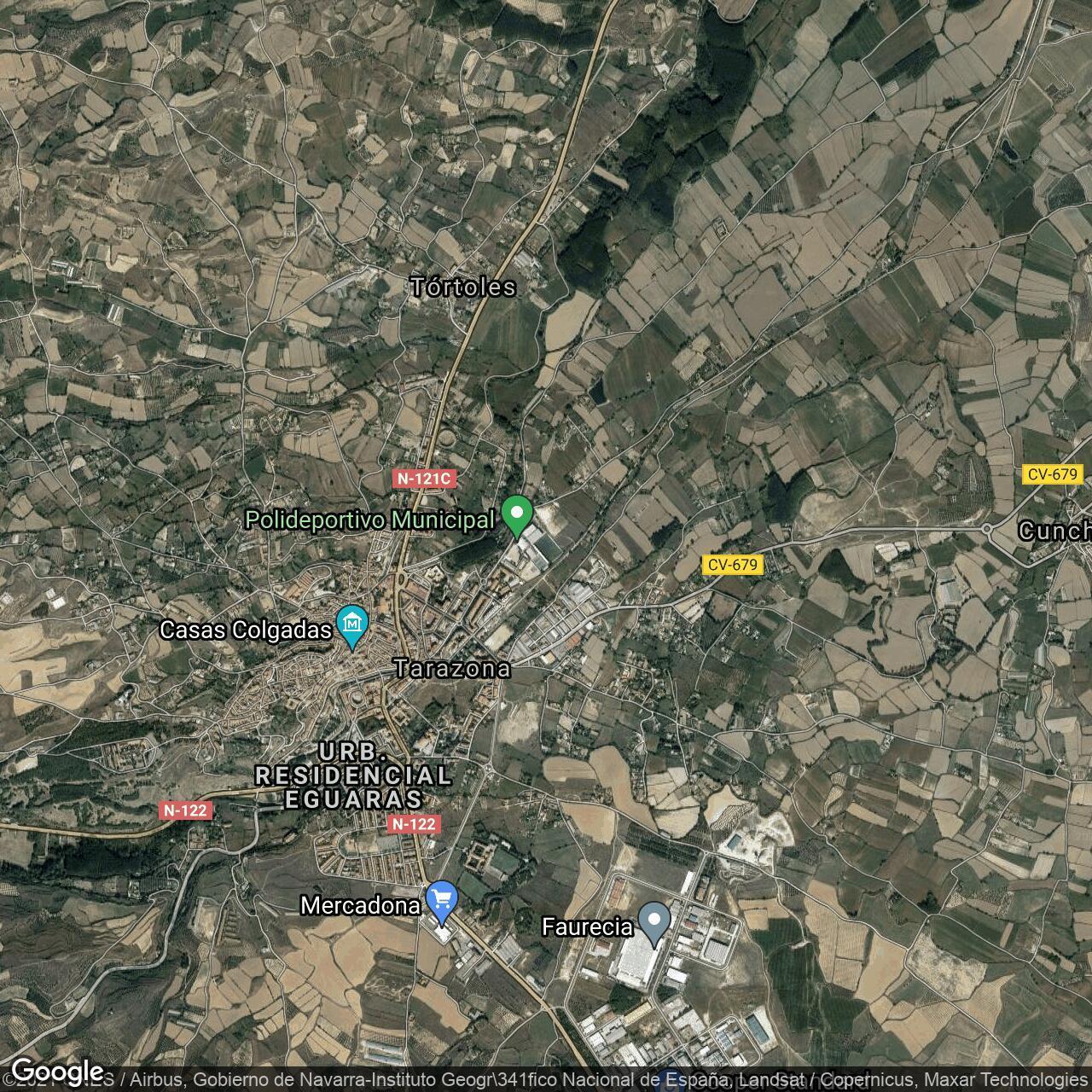 Estadio Municipal De Tarazona Home To Tarazona Football Ground Map