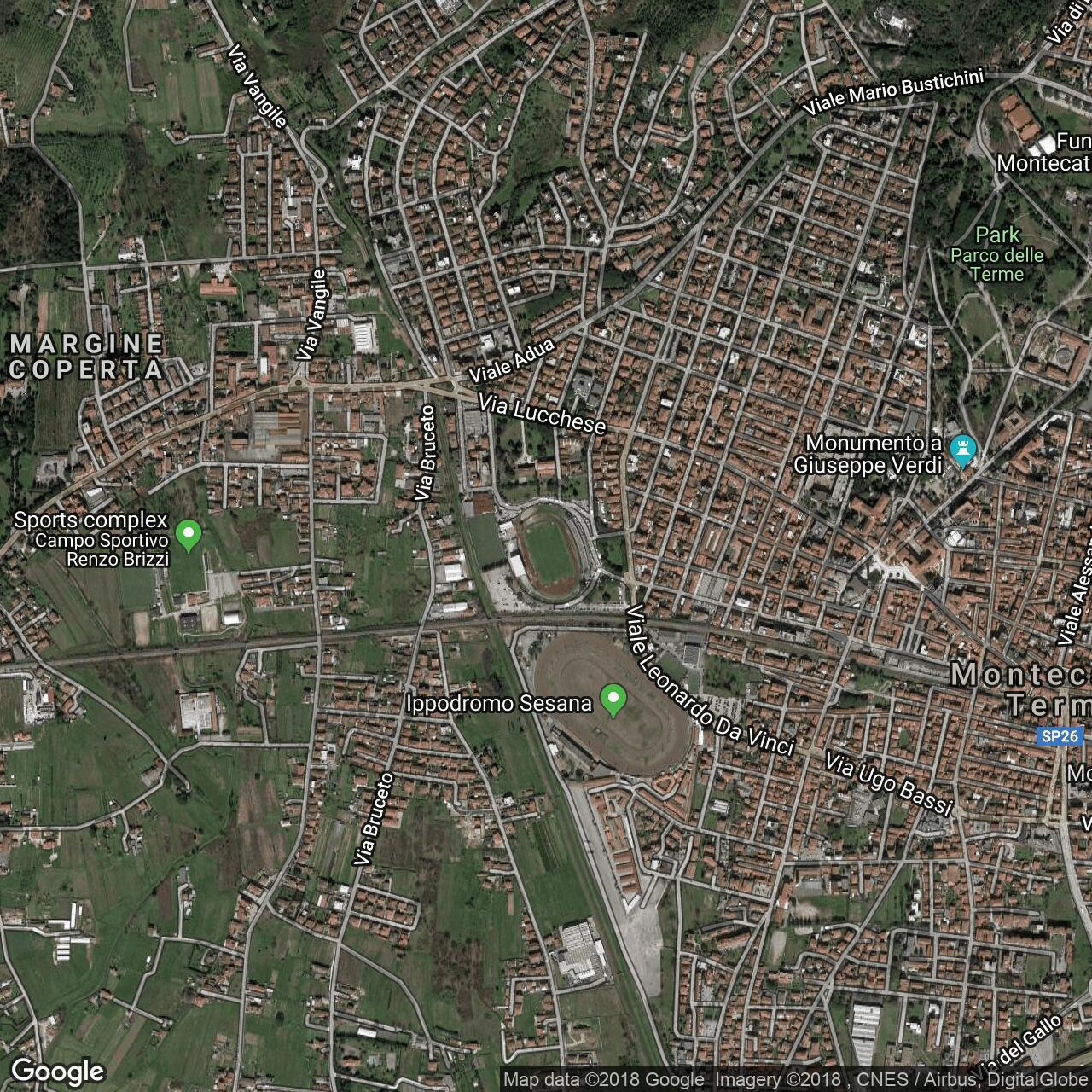 Stadio Daniele Mariotti, home to Valdinievole Montecatini ... on