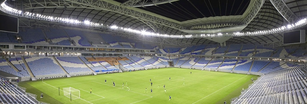 Second World Cup stadium opens in Qatar