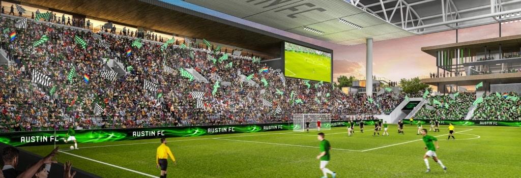 Austin FC break ground on new stadium