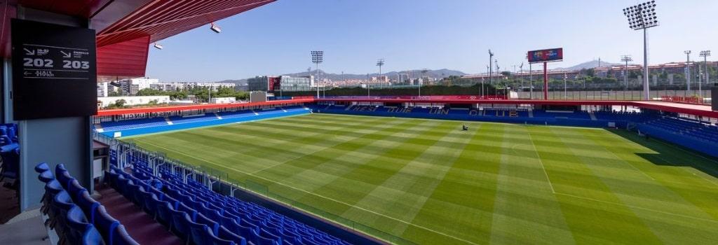 FC Barcelona open new Estadi Johan Cruyff