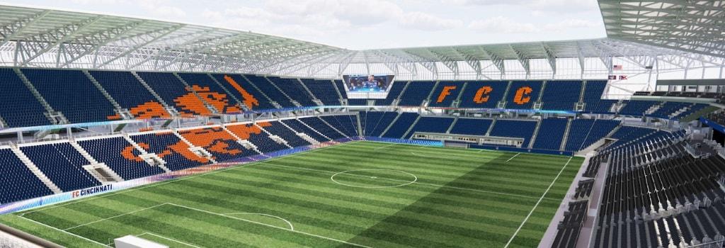 FC Cincinnati unveil final stadium design