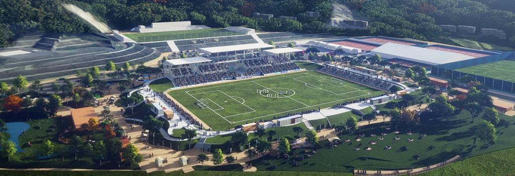 Japan's FC Imabari reveal new stadium plans