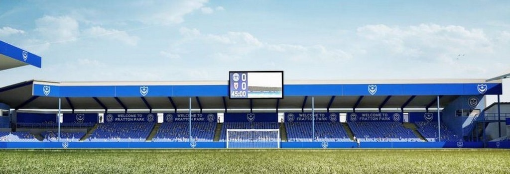 Portsmouth to rebuild away end at Fratton Park