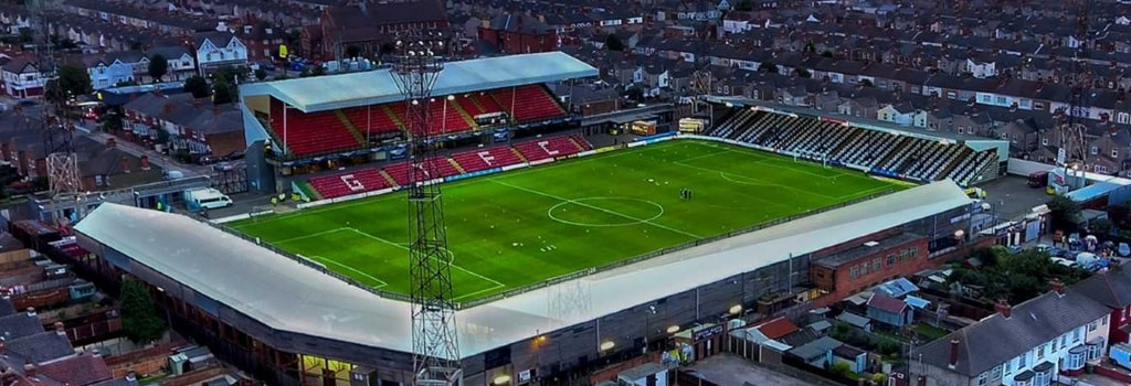 Grimsby Town restarts new stadium plans