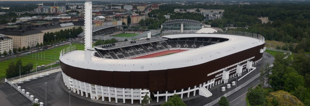 Helsinki Olympic Stadium reopens after renovation