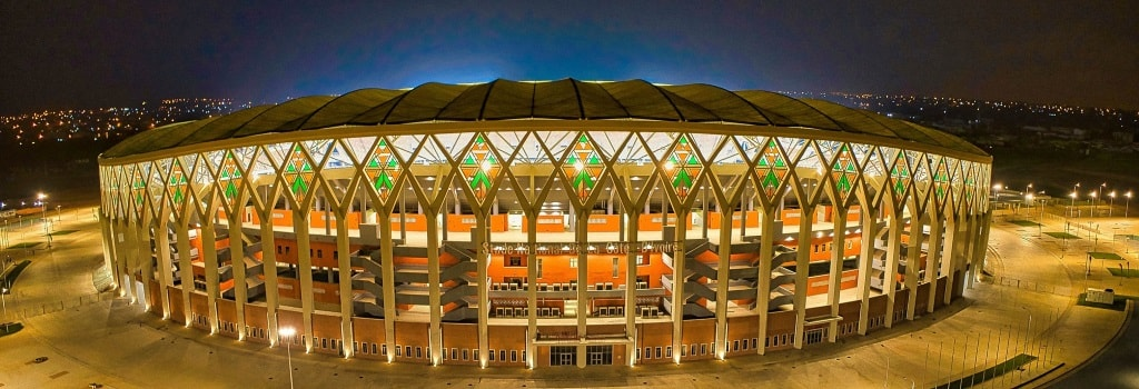 New 60,000 seater stadium opens in Ivory Coast