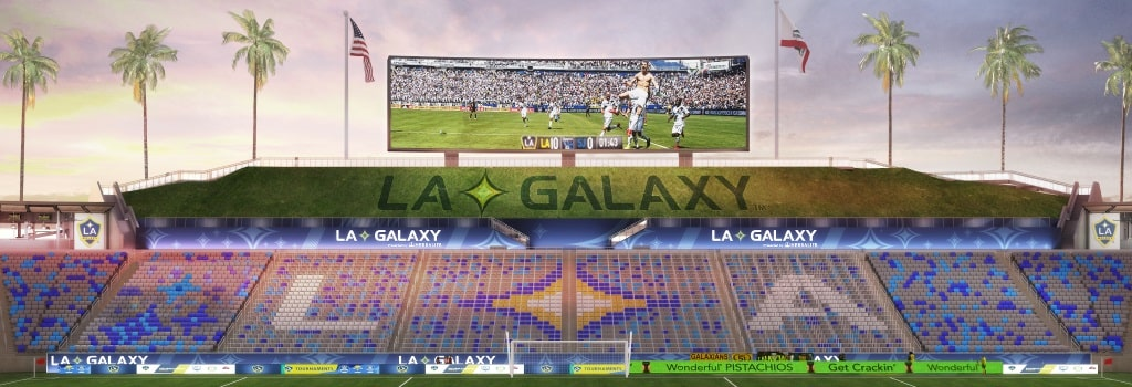 LA Galaxy to introduce safe standing