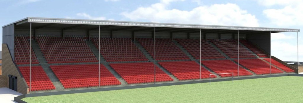 Lincoln City planning to expand Sincil Bank