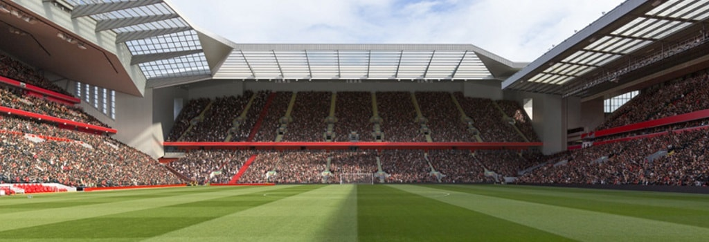 Liverpool look to increase Anfield capacity to 61,000
