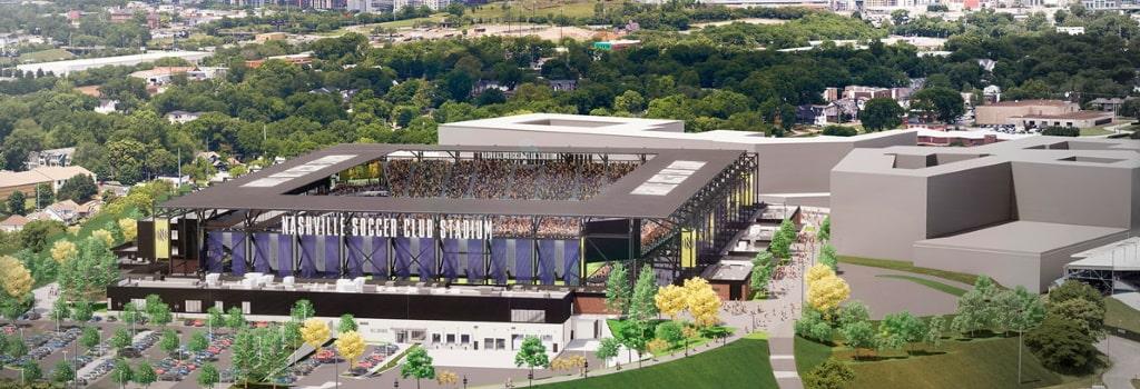 Nashville reveal new stadium plans