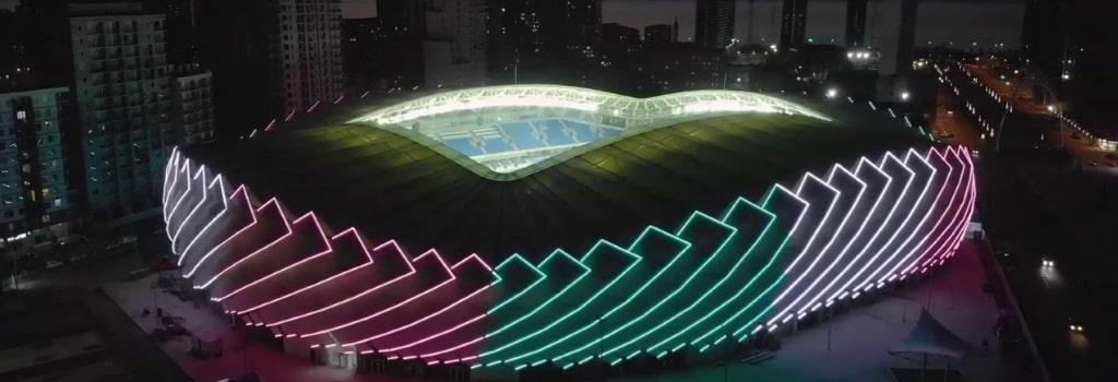 New UEFA category 4 stadium opened in Georgia