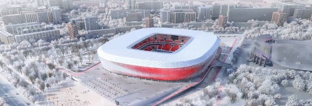 New national stadium to be built in Belarus