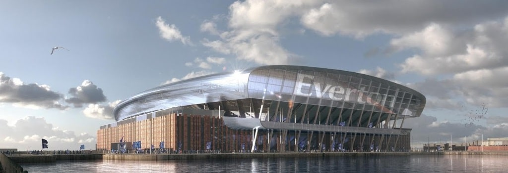 Everton reveal new stadium design