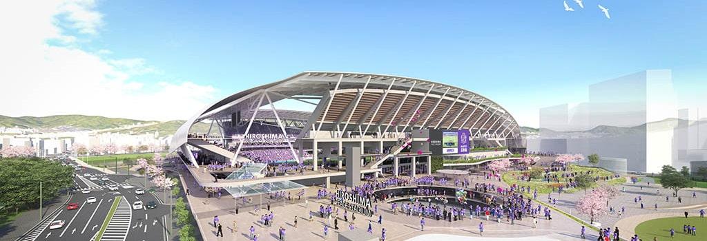 New stadium to be built in Hiroshima