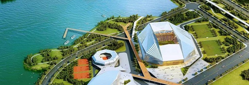 New 60,000 seater stadium for Wuhan FC