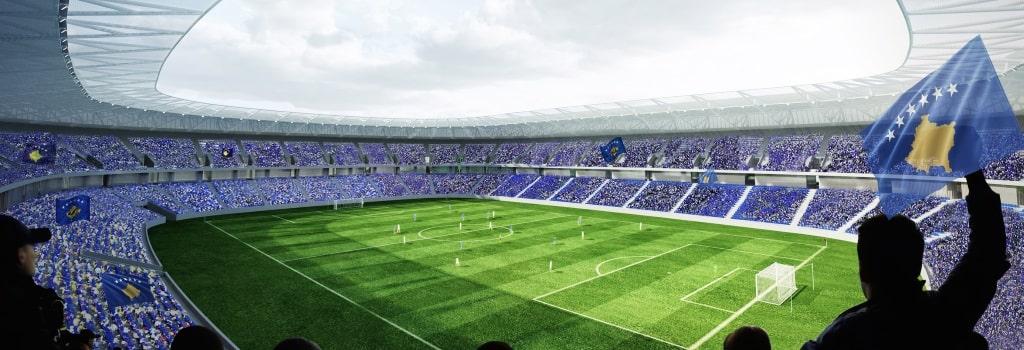 Designs revealed for new Kosovo national stadium
