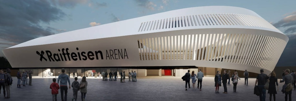 New 20,000 seater stadium for Austrian side LASK