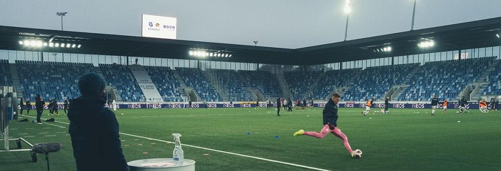 New Lausanne-Sport stadium opens in Switzerland