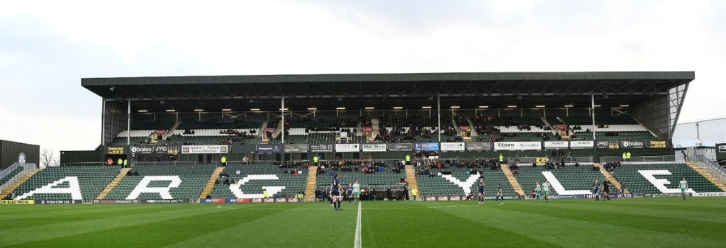 Plymouth's new grandstand opens