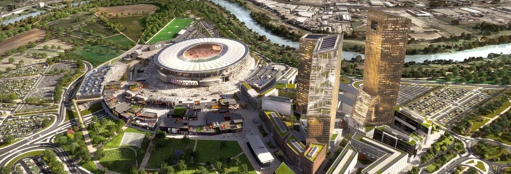 Roma drop plans for new stadium