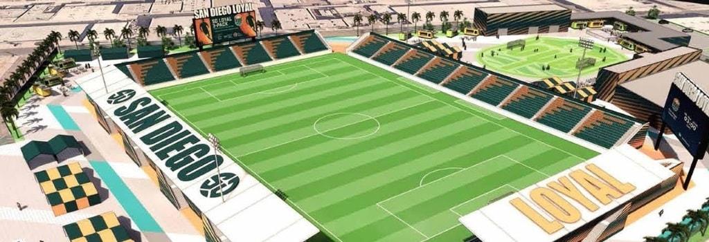 San Diego Loyal SC plans new 15,000 capacity stadium