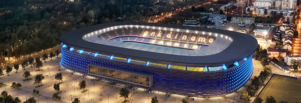 Dinamo Zagreb set for new €60m stadium