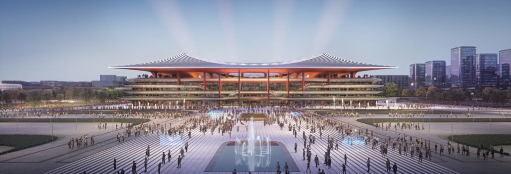New 60,000 seater stadium to be built in China