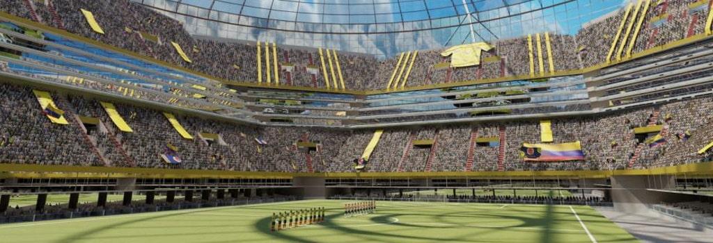 New 55,000 capacity stadium in Columbia