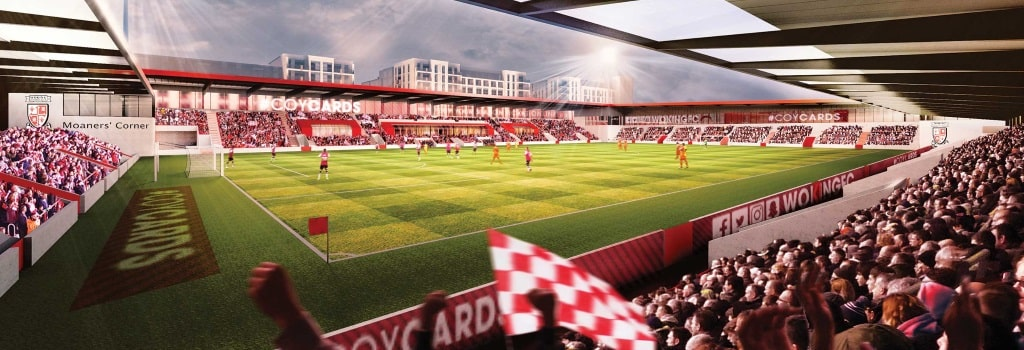 Woking planning new 10,000 seater stadium